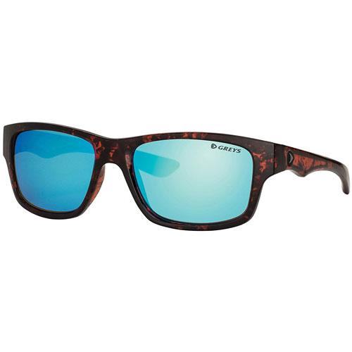 Greys Occhiali Polarizzati G4 Gloss Tortoise Blue Mirror