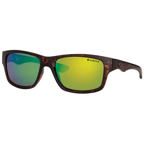 Greys Occhiali Polarizzati G4 Gloss Tortoise Green Mirror