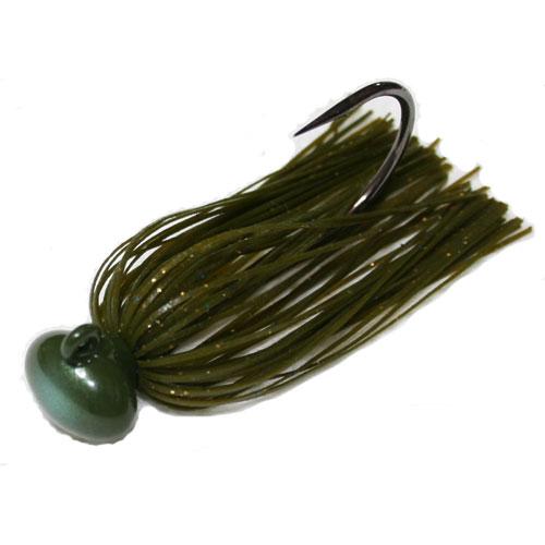 Hide Up Hu-Caluruba Jig 2,5 g. Hook 5/0 Green Gill