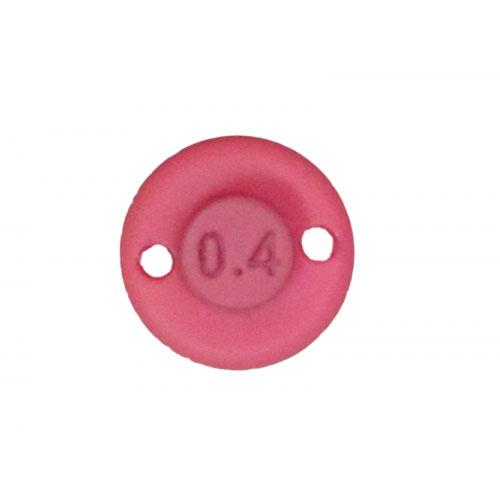 Illex Bung Spoon 0,6 g. Red Glow Pink
