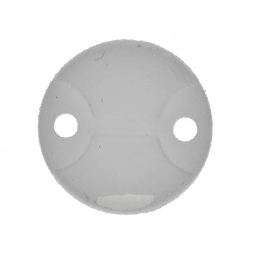 Illex Bung Spoon 0,6 g. White / Glow