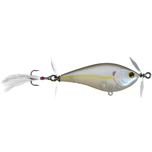 Lucky Craft Kelly J Topwater Chartreuse Shad