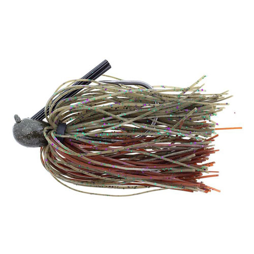 Missile Baits Ike's Flip Out Jig 3/4 Oz Candy Grass