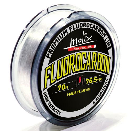 Molix Premium Fluorocarbon Line 8 Lb (0,258 mm) - 70 m