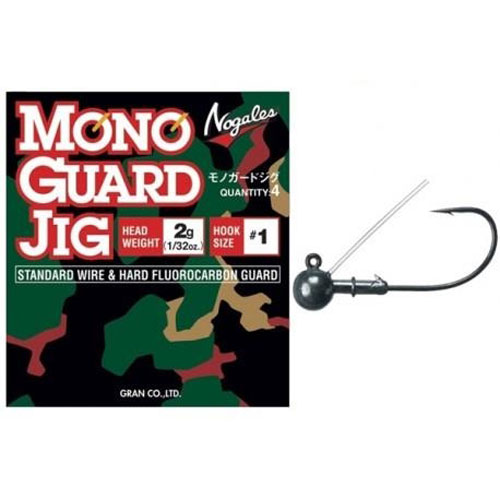 Nogales Mono Guard Jig 1,5 gr. Hook #1