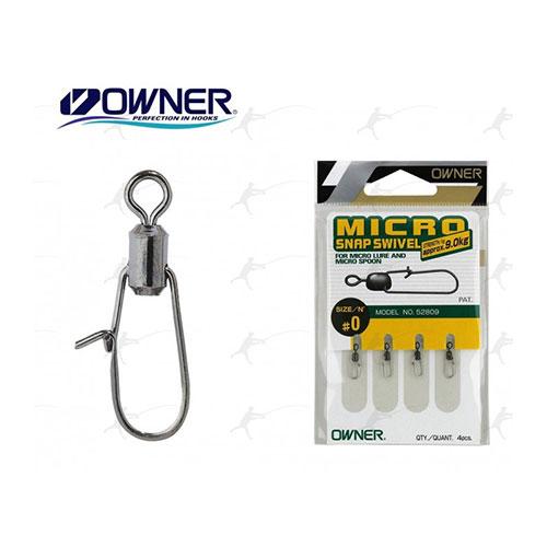 Owner Micro Snap Swivel #0