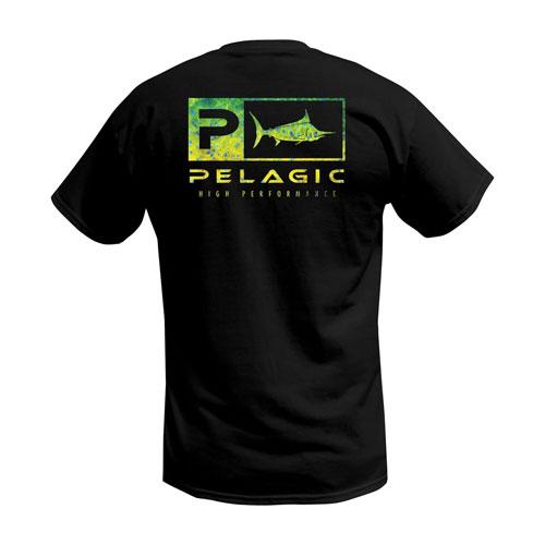 Pelagic Deluxe Dorado Green Classic T-Shirt Size S