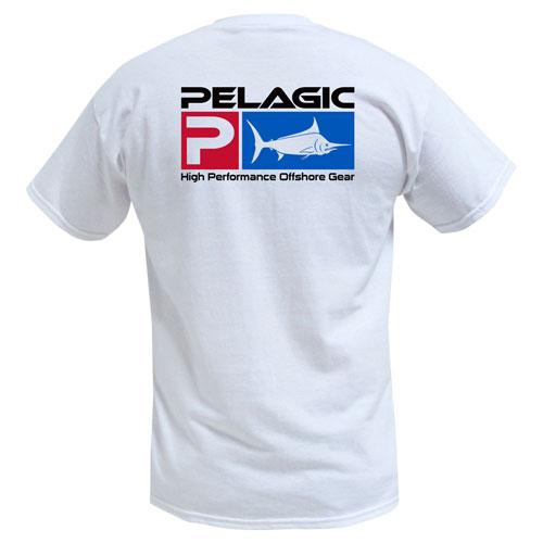 Pelagic Deluxe Logo Tee White Size M
