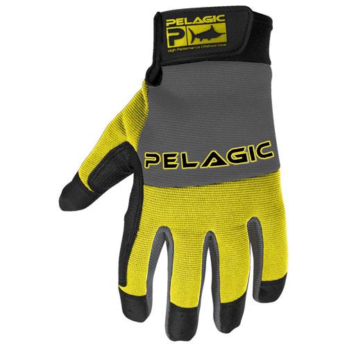 Pelagic Guanti End Game Gloves Full Fingers Yellow M/L