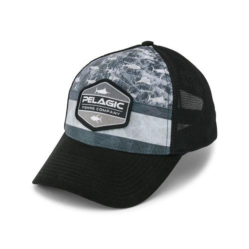 Pelagic Offshore Cap - Americano - Grey