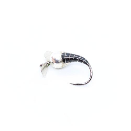 Reevos Perdigon con Propeller 1,5gr. Black & Silver