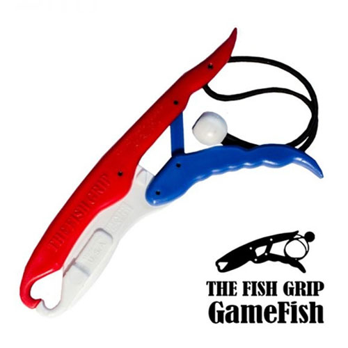 The Fish Grip Gamefish Model Blue Red White