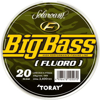 Toray Solaroam Big Bass 16 lb  0,330 mm
