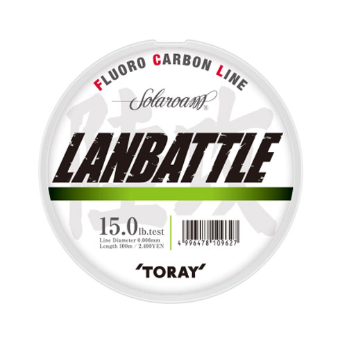 Toray Solaroam Lanbattle 4 lb  0,176 mm