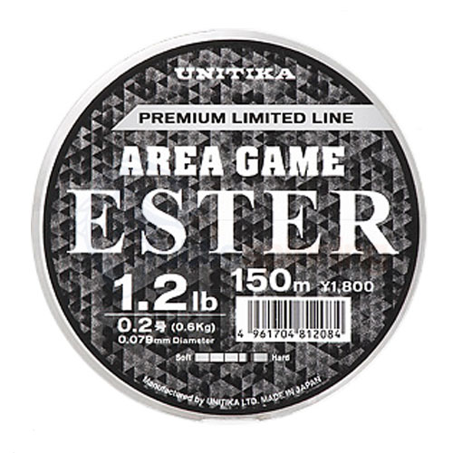 Unitika Area Game Ester 1,2 Lb - 150 m