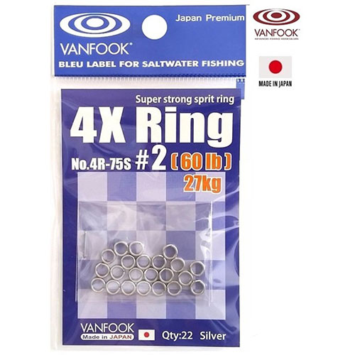 Vanfook 4X Ring #3  80 lb