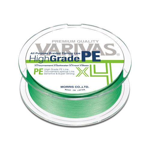 Varivas High Grade PE X4 - 15 lb  #0.8 Green